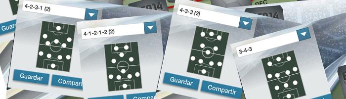 ¿Qué formación se adaptará mejor a nuestro estilo de juego?