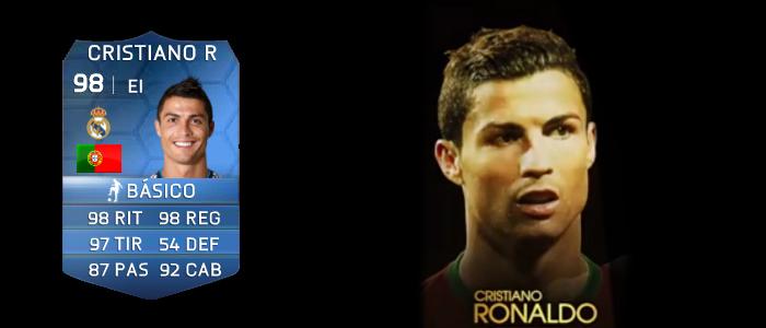 Cristiano Ronaldo TOTY 2013 Ultimate Team 14