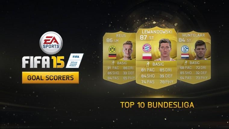 Estos son los máximos goleadores de la Bundesliga en Ultimate Team