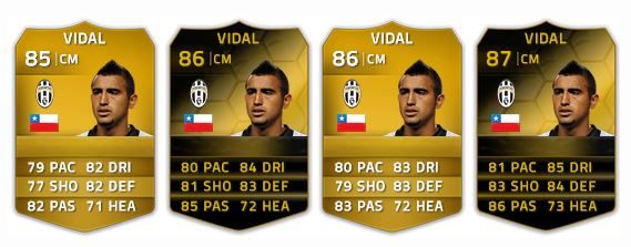 Vidal en FIFA 14