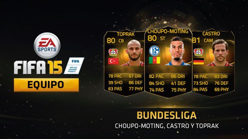 Bundesliga con 3 jugadores en forma por menos de 175.000 monedas