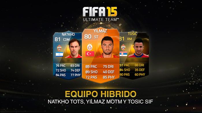 Yilmaz MOTM, Tosic SIF y Natkho TOTS se juntan en un híbrido de 3 ligas para armar un equipo competitivo!