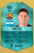 Carta Especial de Messi