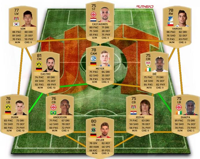 Bundesliga Opción 1