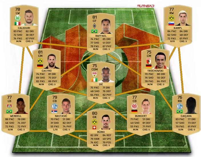 Bundesliga Opción 2