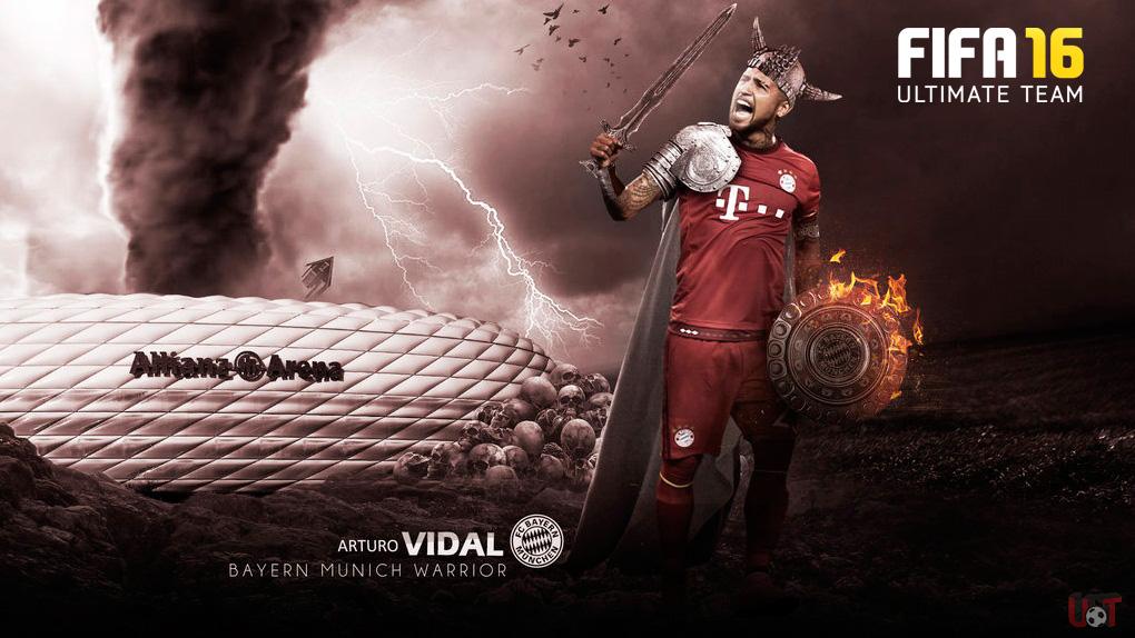 Arturo Vidal un guerrero del medio campo!