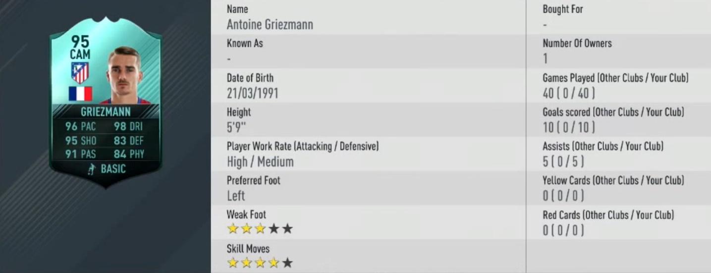 griezmann pro player